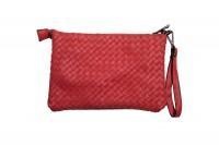 CavoirBag-Valentina- damen handtasche,clutch aus leder(ROT)