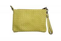 CavoirBag-Valentina- damen handtasche,clutch aus leder(GELB
