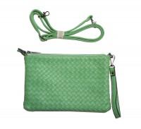 CavoirBag-Valentina- damen handtasche,clutch aus leder(GRÜN)