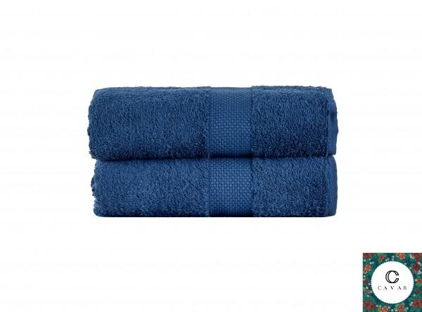 Premium HANDTÜCHER – 2er Set (50 x 100 cm) - 100% aus feiner Baumwolle - Frottee